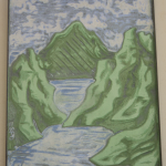 Giovanni Esposito – Rocce e lago